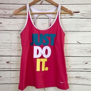 Nike | Dri Fit Tank with Just Do It Logo